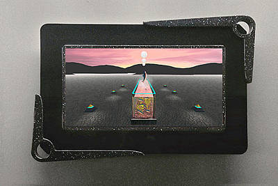 Desert Aquarium 3d Lenticular Transparency Original