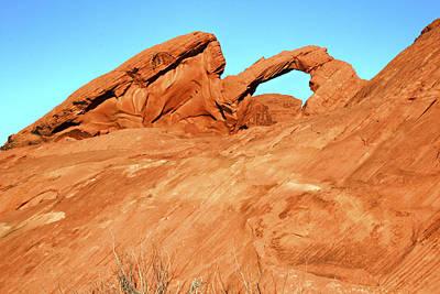 Laura Palmer Photograph - Desert Arch by Laura Palmer