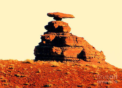Desert Balance Act Art Print by John Potts