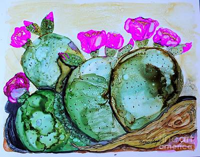 Painting - Desert Bloom by Marcia Breznay