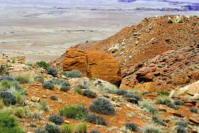 Photograph - Desert Boulder by Scott Sanders