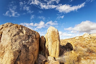 Photograph - Desert Boulders by Anthony Citro