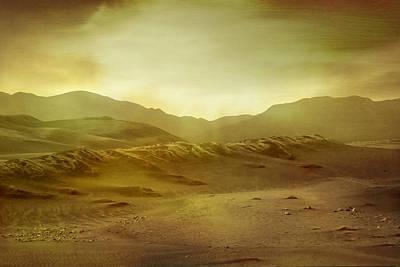 Epic Digital Art - Desert by Brett Pfister