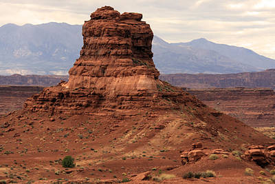 Photograph - Desert Butte - Utah by Aidan Moran