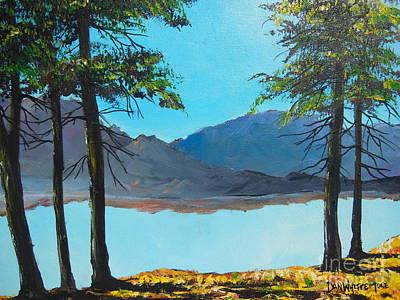 Painting - Desert Calm by Dan Whittemore