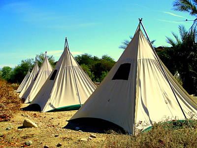 Photograph - Desert Camping by Randall Weidner