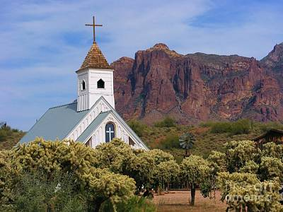 Photograph - Desert Chapel by Marilyn Smith