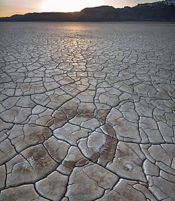 Steen Photograph - Desert Circle by Leland D Howard