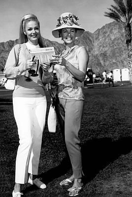 Desert Classic Golf Fashion Art Print