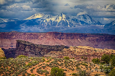 Desert Cliffs N Mountains Art Print by Scotts Scapes