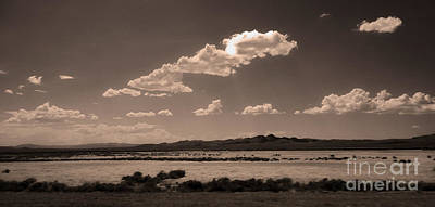 Desert Clouds Art Print by Gregory Dyer