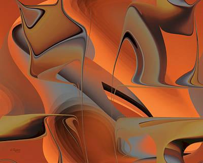 Digital Art - Desert Color by rd Erickson