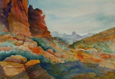 Painting - Desert Colors by Cynthia Roudebush