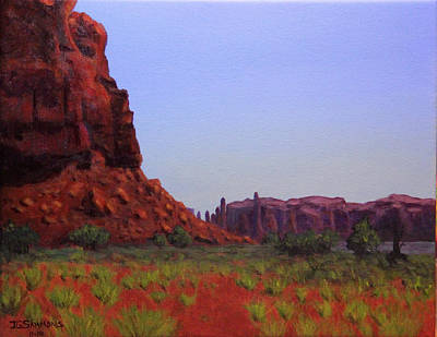 Painting - Desert Colors by Janet Greer Sammons
