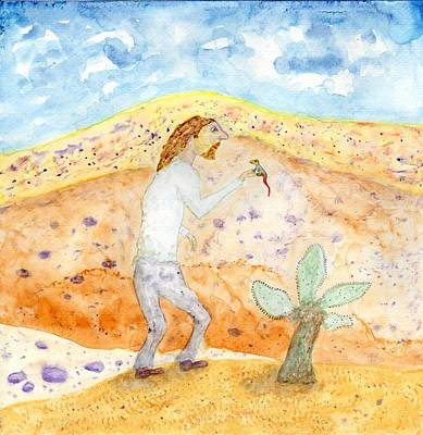 Painting - Desert Companion by Jim Taylor