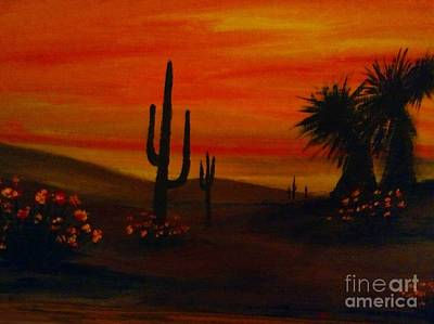 Painting - Desert Dance by Becky Lupe