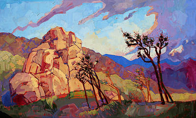 Painting - Desert Dance by Erin Hanson