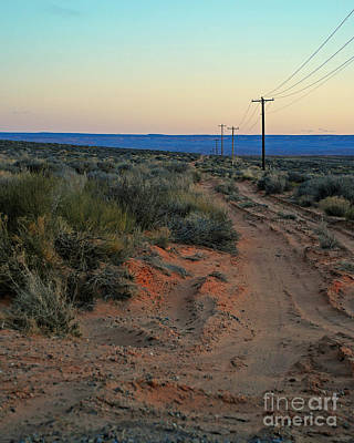 Photograph - Desert Dirt Road by Kate Sumners