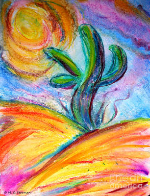 Painting - Desert Dream by M c Sturman