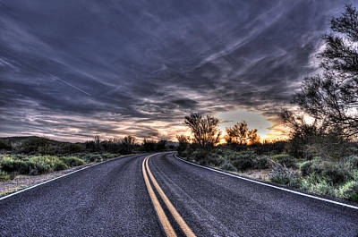 Photograph - Desert Drive by Anthony Citro