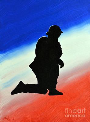 Desert Duty II Art Print by Alys Caviness-Gober