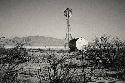 Photograph - Desert Farm by Christopher Rees