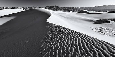 Art Print featuring the photograph Desert Flow by Patrick Downey