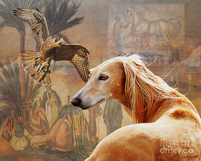 Camel Digital Art - Desert Heritage by Judy Wood