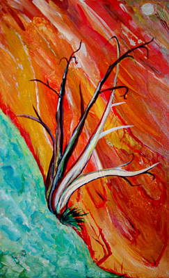 Painting - Desert In Summer by Veronica Rickard