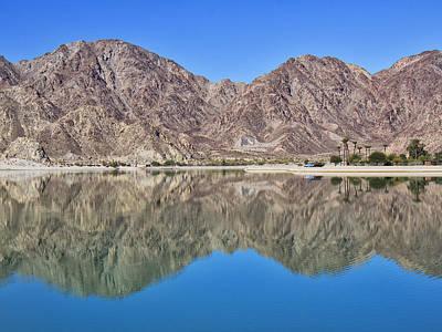 La Quinta Photograph - Desert Lake Stillness by Dominic Piperata