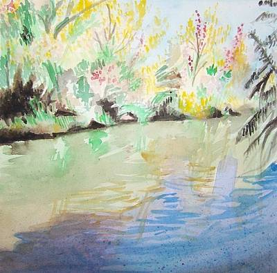 Painting - Desert by Liz Adkinson