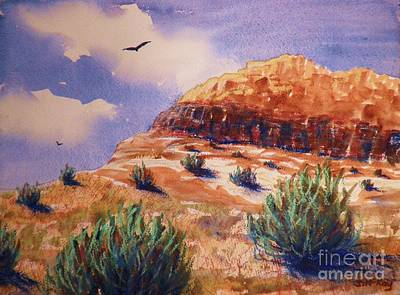 Hawk Hill Painting - Desert Mesa by Suzanne McKay