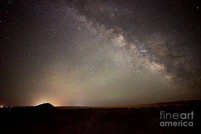 Vintage Chevrolet - Desert Milky Way by Dianne Phelps
