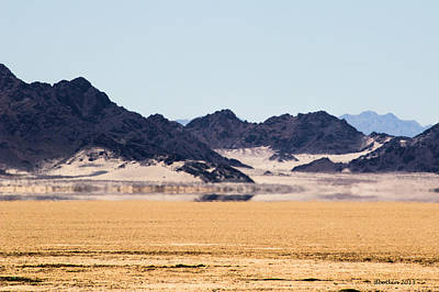Photograph - Desert Mirage by Dick Botkin