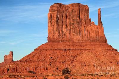 Photograph - Desert Mittens by Adam Jewell