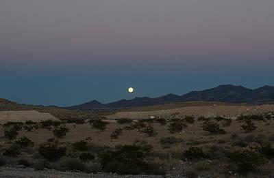 Desert Moon-1 Art Print