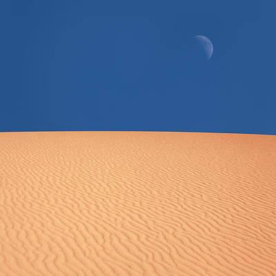 Photograph - Desert Moon by Lordrunar