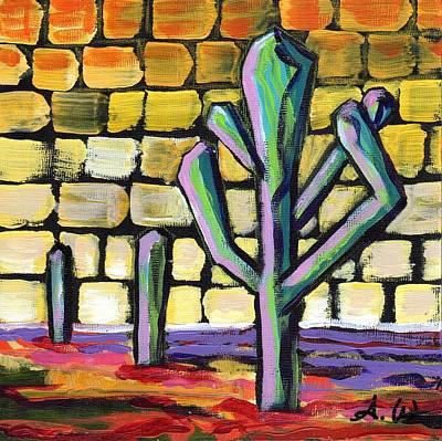 Painting - Desert Mosaic I by Alexandria Winslow