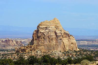 Photograph - Desert Mountain by Scott Sanders
