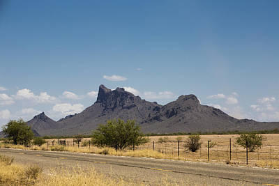 Photograph - Desert Mountains by Mez