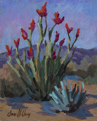 Painting - Desert Ocotillo by Diane McClary