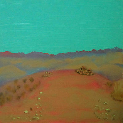 Painting - Desert Overlook by Keith Thue