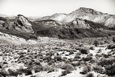 Brown Tones Photograph - Desert Peaks by John Rizzuto
