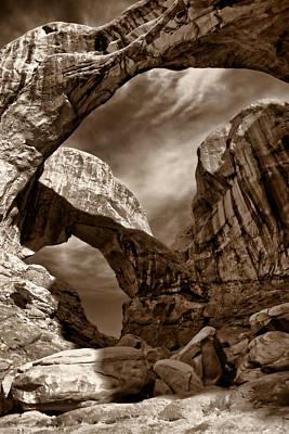 Photograph - Desert Portal by Leda Robertson