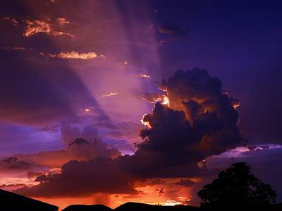 Photograph - Desert Rain Cloud by Mistys DesertSerenity