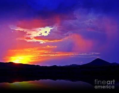 Photograph - Desert Rain by Mistys DesertSerenity