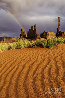 Photograph - Desert Rainbow IIi by Stuart Gordon