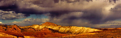 Photograph - Desert Rainfall Outside Las Vegas by Roger Passman