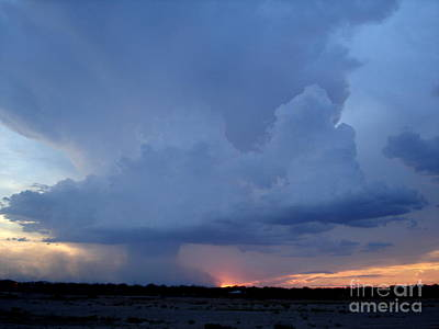 Photograph - Desert Rainstorm 2 by Kerri Mortenson