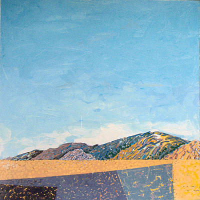 Painting - Desert Range by Vaughan Davies